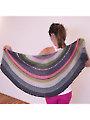 Moon Pie Wrap Knit Pattern