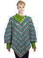 Glamour Fusion Poncho