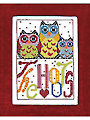 The Hoots Cross Stitch Kit