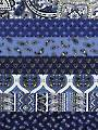 Subtle Charm Blue 1/2-Yard Cuts - 7/pkg.