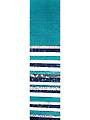#1 Fan Teal/White Jelly Roll - 24/pkg.