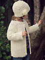 Laurel Cardigan & Cloche Hat