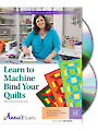 Learn to Machine Bind Your Quilts Class DVD