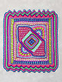 Color Explosion Afghan Crochet Pattern