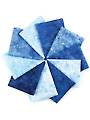 Stonehenge Gradations Brights Indigo Fat Quarters - 10/pkg.