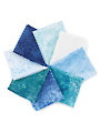 Stonehenge Holiday Blues Fat Quarters - 8/pkg.