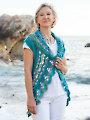 ANNIE'S SIGNATURE DESIGNS: Oceano Circle Vest Crochet Pattern