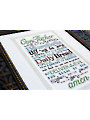 The Lord's Prayer Cross Stitch Pattern