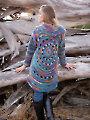 ANNIE'S SIGNATURE DESIGNS: Harbor Lights Circle Jacket Crochet Pattern