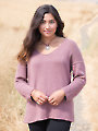 ANNIE'S SIGNATURE DESIGNS: Adelaida Sweater Knit Pattern