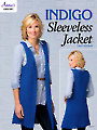 Indigo Sleeveless Jacket Crochet Pattern