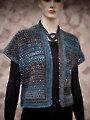 Short Mesh Vest Crochet Pattern