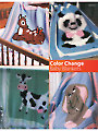 Color Change Baby Blankets Crochet Pattern