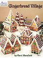 Plastic Canvas Gingerbread Village