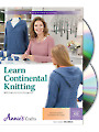 Learn Continental Knitting Class DVD