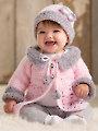 ANNIE'S SIGNATURE DESIGNS: Modern Baby Sweater Crochet Set