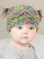 ANNIE'S SIGNATURE DESIGNS: Messy Bun & Pigtail Knit Hat