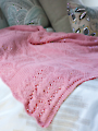 Pink Sky Dreams Baby Blanket Knit Pattern
