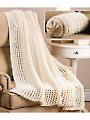 Rib Afghan & Bolster Knit Pattern