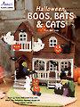 Halloween Boos, Bats & Cats