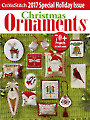 Just CrossStitch Ornaments 2017