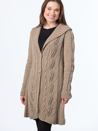 Milkweed Coat Knit Pattern