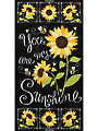 "You Are My Sunshine Panel 24"" x 44"""