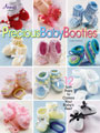 Precious Baby Booties Crochet Pattern Book