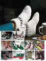 Simple Slippers In Crochet
