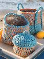 ANNIE'S SIGNATURE DESIGNS: Triad Baskets Crochet Pattern
