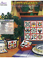 Pennsylvania Dutch Kitchen Plastic Canvas Pattern Set