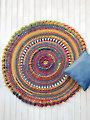 ANNIE'S SIGNATURE DESIGNS: Agadir Mandala Afghan Crochet Pattern