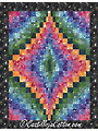 Bargello Jewel Quilt Pattern