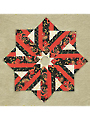Holiday Dressing Tree Skirt Quilt Pattern