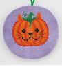 Pumpkit Cross Stitch Pattern