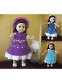 Doll Dress Pattern Collection Crochet Pattern