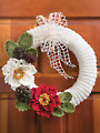 Holiday Traditions Wreath Crochet Pattern