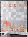 EXCLUSIVELY ANNIE'S QUILT DESIGNS: Elephant Walk Quilt Pattern