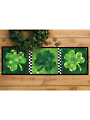 Patchwork Accent Table Runner Pattern - Shamrocks - March