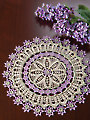 Avalon Doily Crochet Pattern