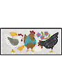 Here a Chick, There a Chick Wall Hanging Pattern