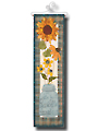 Fall Country Flowers Wall Hanging Pattern
