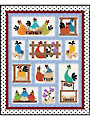 Hen Party Quilt Pattern