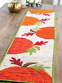 In the Pumpkin Patch Table Runner Pattern