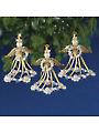 Golden Angels Beaded Kit