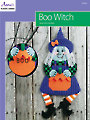 Boo Witch Plastic Canvas Pattern
