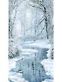 "Winter Hike Panel 24"" x 44"""