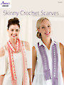 Skinny Crochet Scarves Pattern