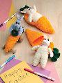 Carrot Bunnies Crochet Pattern