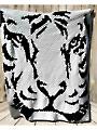Tiger Afghan Crochet Pattern